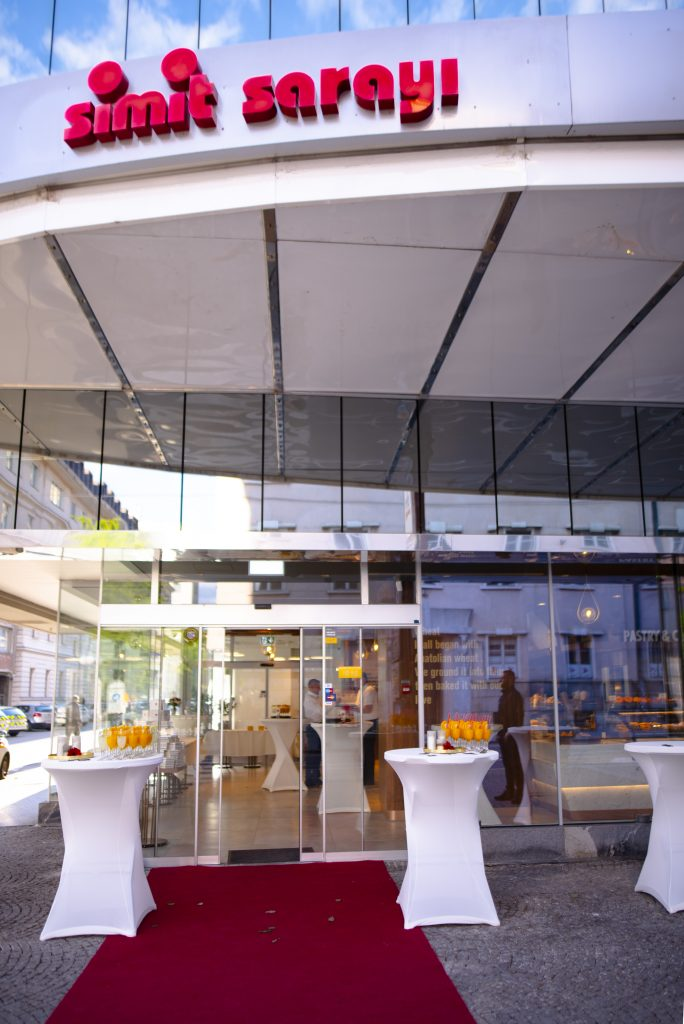 fotografiranje odprtja restavracije