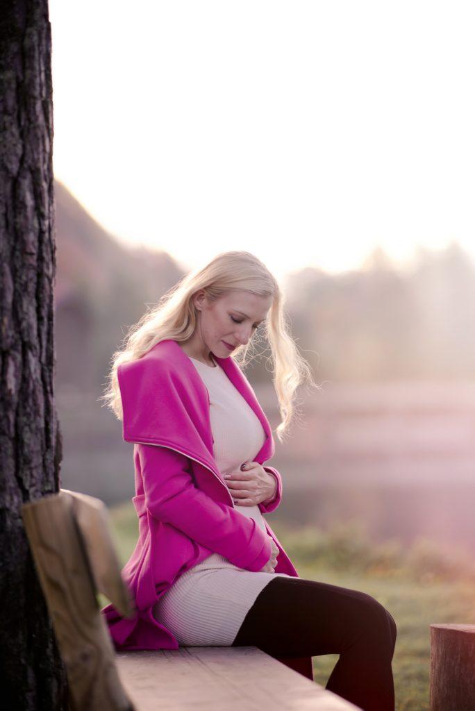 nosecnisko fotografiranje v naravi